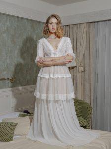 Bohémske svadobné šaty