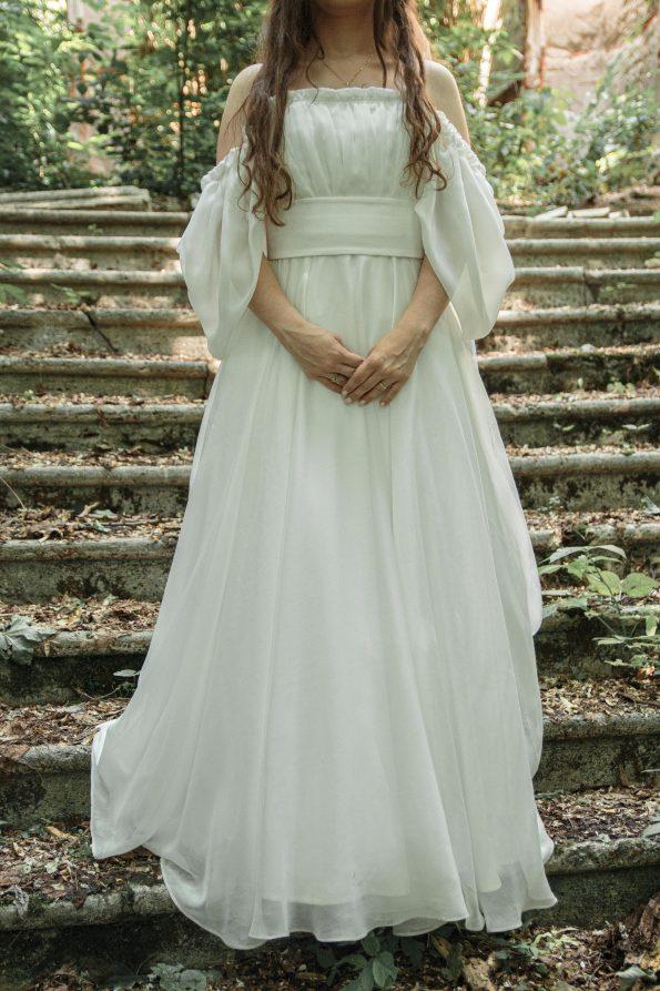 Korzetové svadobné šaty