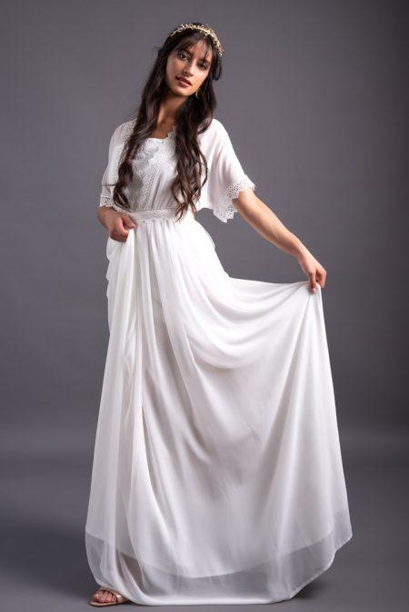 Svadobné šaty v županovom štýle