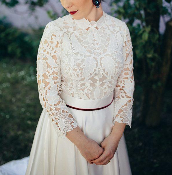 Svadobné šaty vhodné na jeseň