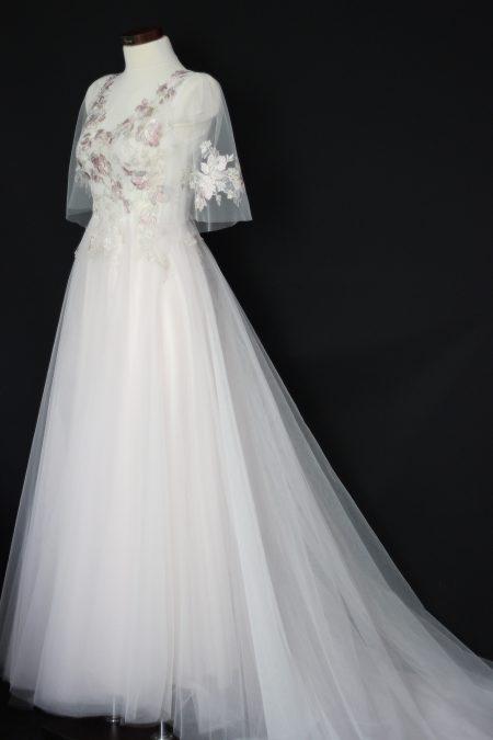 Tylové svadobné šaty