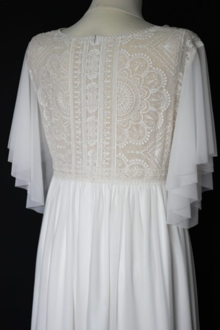 Svadobné šaty pre tehotnú nevestu