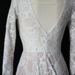 Telové svadobné šaty