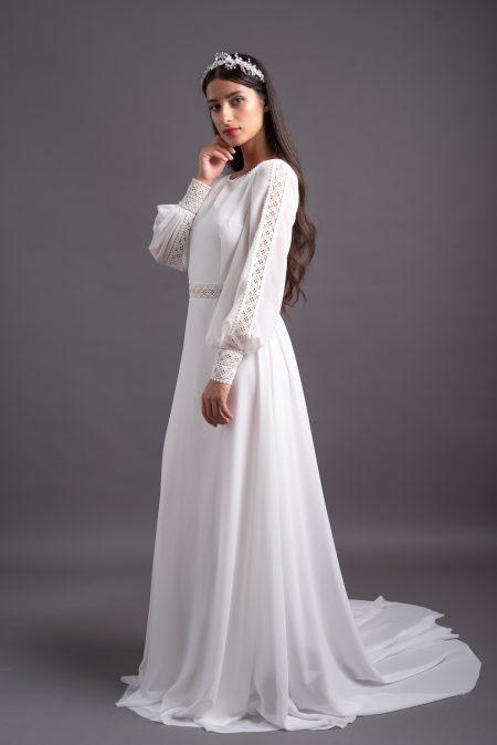 Svadobné šaty na manžetu